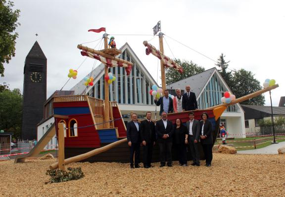 KiTa St. Stephanus Oberasbach neues Pirtenschiff von Playmobil